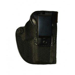 Hideaway for a Glock 19,23,32, r/h, Cowhide, Black, Clip