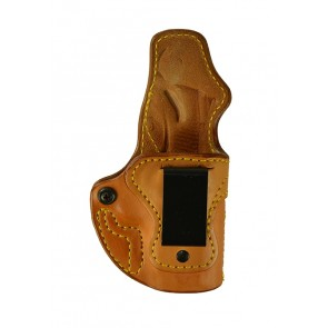 """Public Secret for a 1911 3"""", r/h, Cowhide, Natural, Clip - Smooth Side Out"""