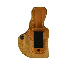 Public Secret for a Glock 26,27,33, r/h, Cowhide, Natural, Clip