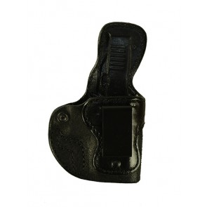 Public Secret for a Glock 43, r/h, Cowhide, Black, Clip