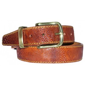 Embossed Rock Steady Belt Python