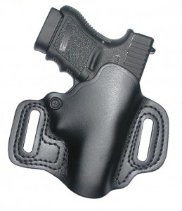 Bare Skin gun holster closeup
