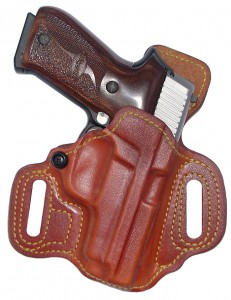 Slide Guard gun holster closeup